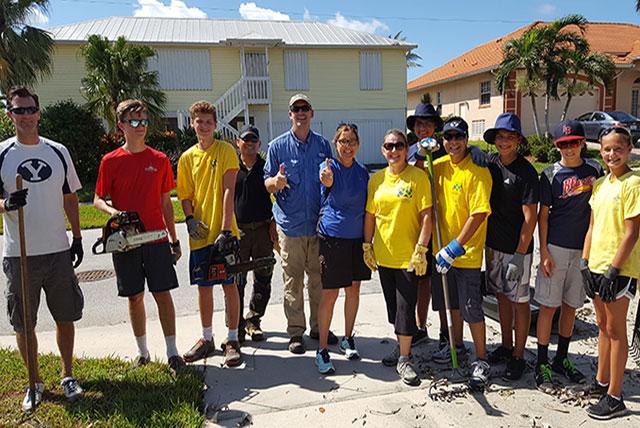 Hurricane Irma LDS Volunteers